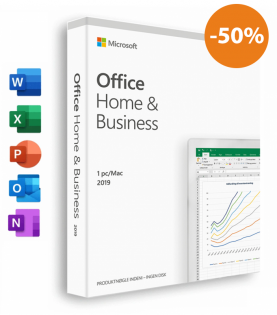 Office 2019 Til Mac/Pc - Home and Business