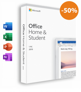 Microsoft Office 2019 Home & Student Til Windows (Download)
