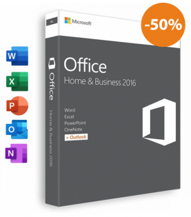 Microsoft Office 2016 Til Mac - Home and Business (Download)