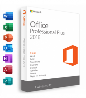 Microsoft Office 2016 Professional Plus Til Pc (Download)
